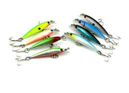 Hengjia High Quality Classic Minnow Hard Body Bait Fishing Lures 10 Treble Sharp Hooks Bionic Fish Shape Plastic Baits