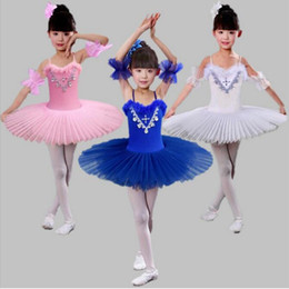 Pink Blue Ballet Dancing Skirt Girl Sky Blue White Pink Ballet Tutu Costume Children Adult Swan Lake Stage Competition Ballet Tutu