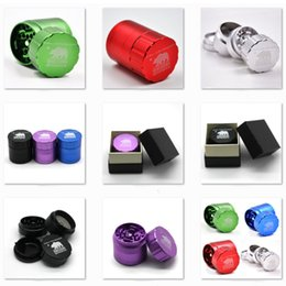 Wholesale Cali Crusher Grinders Herb Grinder Layers Aircraft Aluminium Alloy Grinder mm Tobacco Grinders Colors