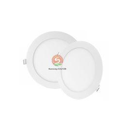 Dans la lumière conduit 6w à vendre-Ultra-mince encastré plafonniers SMD 2835 LED Downlight luminaires 3W 4W 6W 9W 12W 15W 18W 24W nature chaud et frais blanc