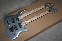 The Wholesale-2015 High Quality Customized Two-headstock Electric Guiitar with the 12 Strings and 6 Strings Respectively