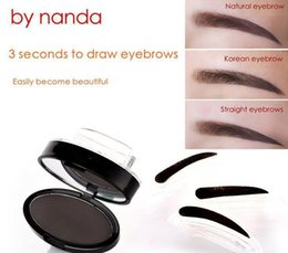 in 2017 The latest hot selling mechaelia moisturizing seal eyebrow powder 3 colors Lazy necessary synophrys