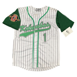 Wholesale DeWayne Warren quot G Baby quot Evans Stitched Kekambas Baseball Jersey White S XXXL