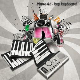 La venta al por mayor 2016 el nuevo portable 61 llaves flexibles universales rueda para arriba el piano electrónico del teclado suave del piano El envío libre supplier roll up 61 keys desde enrollar 61 teclas proveedores