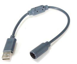 Bande de xbox en Ligne-Par dhl ou ems 200 pièces Game Gaming Breakaway Wired Controller Câble USB Jpypad Compatible pour Xbox pour 360 Rock Band
