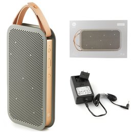 Wholesale Newest Version BeoPlay A2 Bluetooth Speaker Wireless Speakers BANG and OLUFSEN B O PLAY Mini Wallet Style vs mini JBL charge