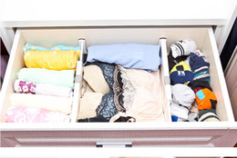 Drawer Clapboard Divider Cabinet DIY Storage Organizer high quality plastic clapboard divider