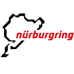 Hot Sale Green Nurburgring Body Car Styling Vinyl Decal Stickers Drop Shipping Creative Car Styingcar Accessories Jdm