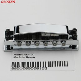 Wholesale Chrome Ricken backer Style Guitar Bridge Cover And Base Plate RK