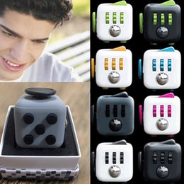 Wholesale Top Quality Matte Novelty Fidget Cube Toy Stress Relief Focus For Adults and Children Decompression Anxiety Toys Best Christmas Gift