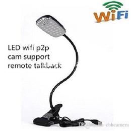 HD 1080P Wireless WiFi Camera Desk Lamp With Mini Hidden Cam Fashion Design Support Smartphone Free App Remote Control Table Lamp