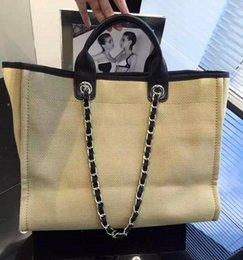 Chaîne grand sac à vendre-Sac à bandoulière en cuir véritable de cambon de cuir de mode de mode de qualité de mode de mode