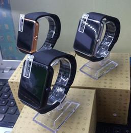 Moniteur de sommeil podomètre à vendre-GT08 Smart Watch Bracelet Bluetooth avec podomètre Surveillance de la caméra Sleep Sedentary Reminder Compatible Platform Android Samsung iphone IOS