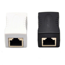 Freeshipping RJ45 CAT5 CAT5E Network Ethernet Connector female to female Cable Adapter