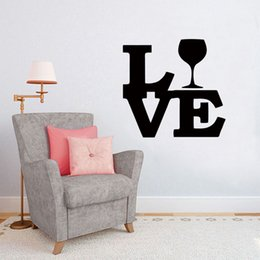 Hot Beer Wine Wall Decal Stickers Bedroom Living Room Decorative Murals Vinyl Art New Design Diy