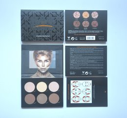 Wholesale HOT NEW Makeup AE Contour and Highlighting Powder Foundation Palette Contouring Makeup Kit DHL GIFT