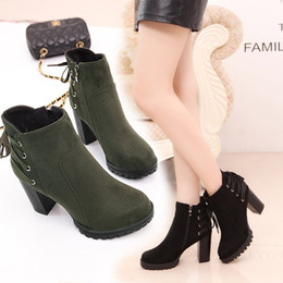 Sexy women shoes Autumn and winter new Martin boots female with the British short boots spring with the side zipper female boots
