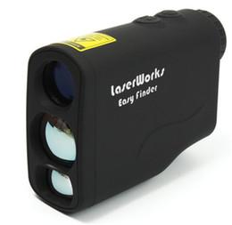 Wholesale Laser Rangefinder m Laser Range Finder Hunting Monocular Golf Rangefinders Measure Laser Distance Meter Speed Tester Tool Parts