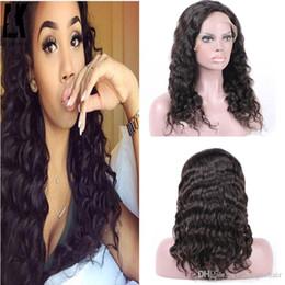 360 lace frontal full lace closure Virgin Brazilian human hair Natural Hairline Loose Wave Peruvian Indian Malaysian hair Closure