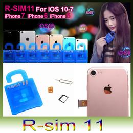 Original R SIM 11 RSIM11 r sim11 rsim 11 unlock card for iPhone 5 6 7 6plus iOS7 8 9 ios 10 ios10CDMA GSM WCDMA SB AU SPRINT 3G 4G