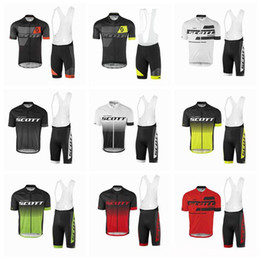Wholesale 2017 new SCOTT Bisiklet team sport suit bike maillot ropa ciclismo cycling jersey Bicycle MTB bicicleta clothing set