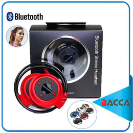 2017 mains libres universel Mini 503 Neckback Sport sans fil Bluetooth mains libres stéréo casque écouteur écouteur micro SD carte fente + radio FM mains libres universel à vendre