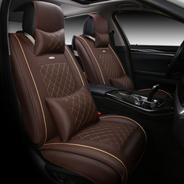 High quality special Leather Car Seat Covers For SsangYong Korando Actyon Rexton Chairman Kyron car accessories car-styling