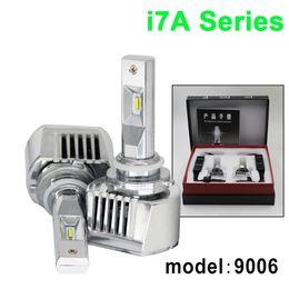 Super bright 9006 led bulbs 12-36V 36W 4800LM I7 Car LED Headlight 6000K 360 Degree LED Headlamp Light Bulbs Kit