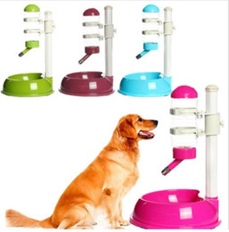 Wholesale Pet Plastic Dog Cat Dish Bowl Bottle Water Drinker Food Feeder Your Best Choice