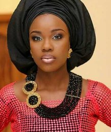 african jewelry sets Nigeria Jewellery Sets yellow blue red purple orange Crystal Beads Wedding Jewelry Set match aso ebi lace G01