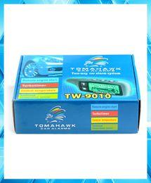Compra Online Sistema de alarma a distancia un coche-Sistema de alarma de la manera de la versión 2 de la venta al por mayor-Caliente de la venta con el comienzo alejado del motor del LCD Sistema de alarma de dos vías del coche TOMAHAWK TW9010