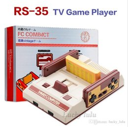 RS-35 CoolBady Video Game Console FC Red White Classic Family Game Machine TV Game Consoles Yellow Card Plug-in Card Games JuegoBuilt-in 500