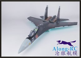 Wholesale new su35 EPO plane SU RC airplane tail pusher RC MODEL HOBBY TOY RC PLANE have kit set or PNP set
