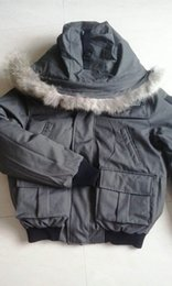 NM01 Bomber jacket men Real Fur Collar parka Warm Thick Down Coats Anorak Duck Duvet Male Clothes