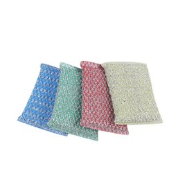 Household Cleaning Tools Scouring Pads Colorful Kitchen Washing Sponge Pads Dish Washing Items