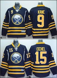 Wholesale American Premier Hockey Jerseys Buffalo Sabres Hockey Jack Eichel Evander Kane Ice Winter Home Away Jersey Stitched Authentic