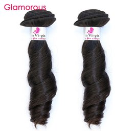 "Glamorous Wholesale Hair Bundles 2Pcs Brazilian Malaysian Indian Peruvian Human Hair Funmi Wave Remy Hair Weft Extensions 12""-34"" available"