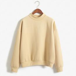Wholesale Korean Style Women Loose Pullover Sweater Autumn Women Fleece Sweater Pullovers