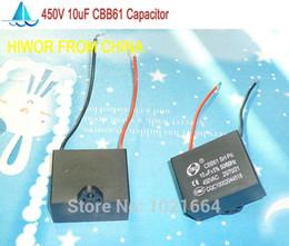 Wholesale CBB Capacitors uf V AC CBB61 Metallized Capacitor For Motor Start up Ceiling Fan TOL