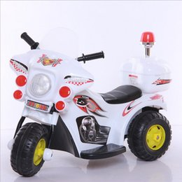 Electric motorcycle with Light music Toy car A storage battery car With rechargeable lights Drive type single drive