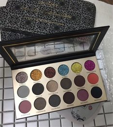 Lovely sale Glamierre Glitter Eyeshadow Palette 18 colors Ultra Pigmented Eye Shadows Palette DHL shipping from suning