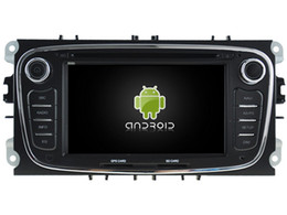 Promotion tuner vidéo audio Octa Core Android6.0 2GB RAM voiture dvd play radio audio stéréo pour Ford Mondeo Focus S-max Galaxy gps navigation headunit 3G BT enregistreur
