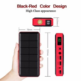 UK plug 26000 mAh car jump starter Auto power bank12v jump start Car charger Starting system Multi-function car battery power