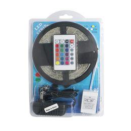 Wholesale DC V RGB LED Strip Lighting Waterproof Tapes Diode Keys Controller A Supplier