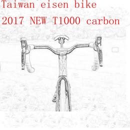 Wholesale 2017 T1000 UD TOP NEW cycling carbon road frame bike frameset aero bicycle handlebar stem brake taiwan eisen can be XDB shipping