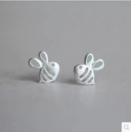 Cute cartoon honey bee Stud Earrings FS123