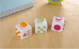 Wholesale Cube World Toys - 2016DHL Fidget Cube Toy Games For Adult World American Desk Toys Children Christmas Gifts to Relieve Anxiety And Pressure Decompression Toys