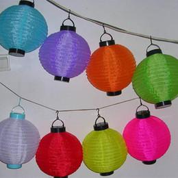 New Solar Lights LED Solar Lantern Chinese Lantern LED Lamps Christmas Light Solar Powered Chinese Lantern Garden LED Light String Hot