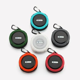 Waterproof Speaker Wireless Shower Handsfree Bluetooth Speakers Car Waterproof Portable mini MP3 Super Bass Receive Call & Music In BOX