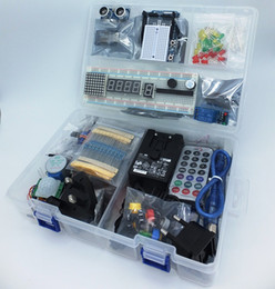 Wholesale MEGA Starter Kit Ultra Arduino IDE Compatible Power supply V A WiFi Bluetooth Sensors Modules Resistor kit and gt